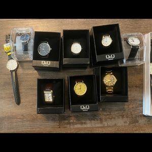 Men's and women's watches. Never worn.